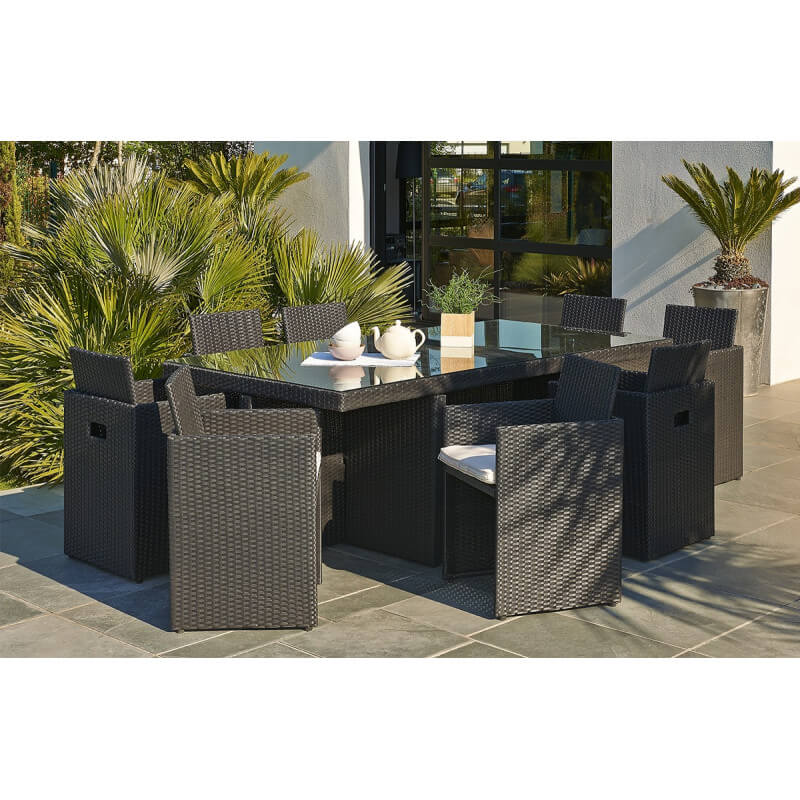 Stunning chaise de jardin centrakor contemporary for Chaise longue de jardin leroy merlin