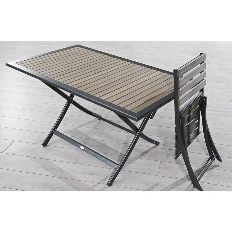 Ensemble Table Et 4 Chaises Pliantes