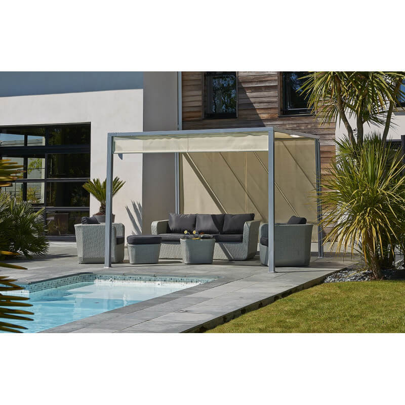tonnelle pergola pergola aluminium castorama meilleures images d 39 inspiration pour votre. Black Bedroom Furniture Sets. Home Design Ideas