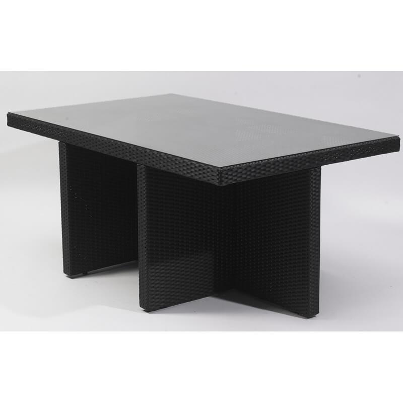 Table avec tabouret encastrable conceptions de maison - Table basse avec tabouret ...
