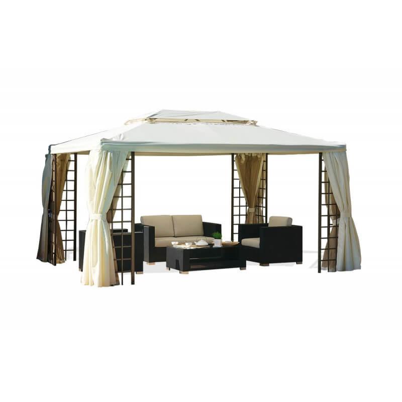Tonnelle aluminium 4x3 maison design for Prix piscine 4x3