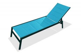 Bain de soleil chaise longue PACIFIC truquoise