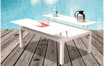 Table basse de jardin LIBELLE 120X80cm