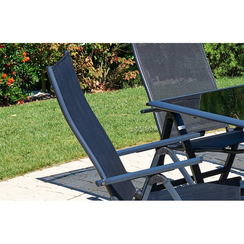 stunning chaise de jardin multiposition pictures. Black Bedroom Furniture Sets. Home Design Ideas