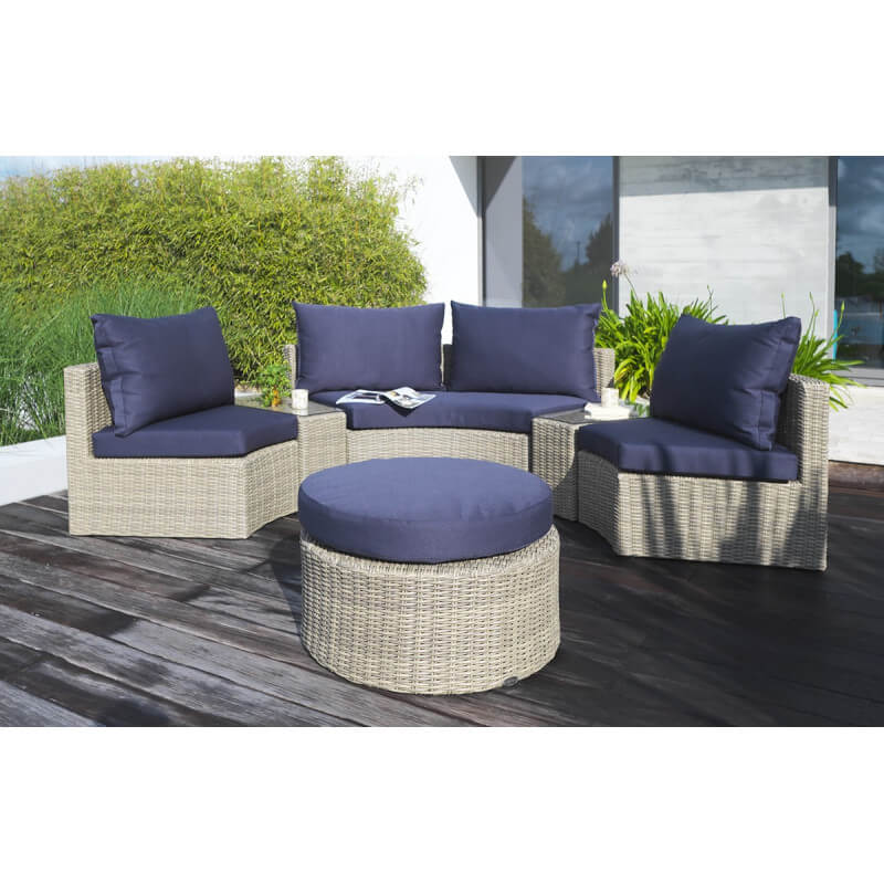 best salon de jardin en rotin demi cercle pictures. Black Bedroom Furniture Sets. Home Design Ideas