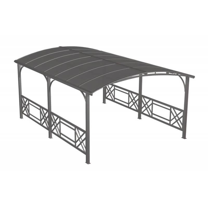 pergola design rectangulaire avec toit rigide le r ve chez vous. Black Bedroom Furniture Sets. Home Design Ideas