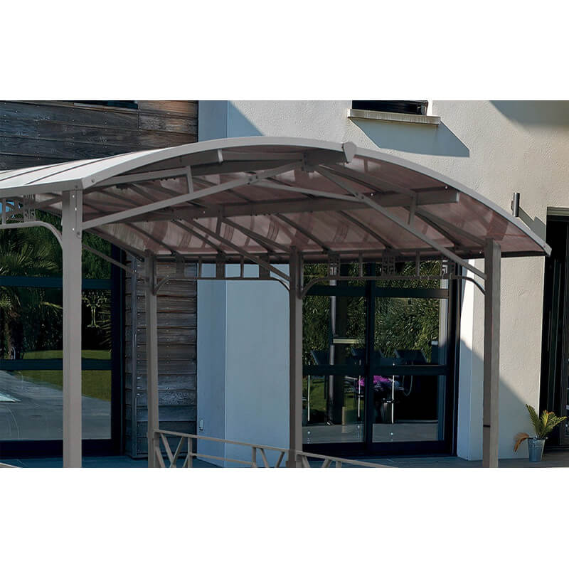 pergola design rectangulaire avec toit rigide le r ve chez vous. Black Bedroom Furniture Sets. Home Design Ideas