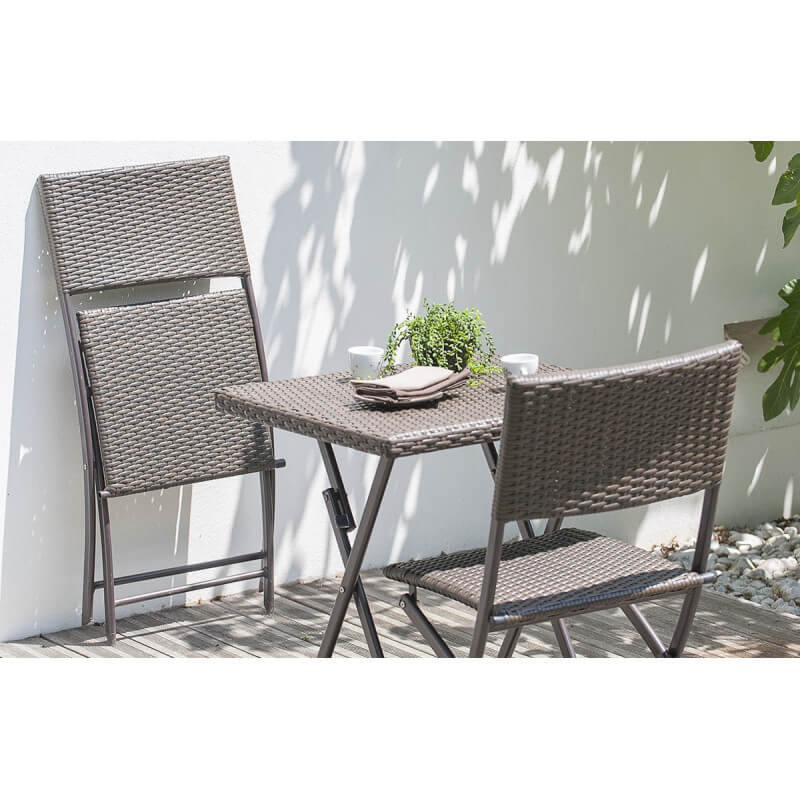 table pliante resine gallery of gecko jardin salon oglio. Black Bedroom Furniture Sets. Home Design Ideas