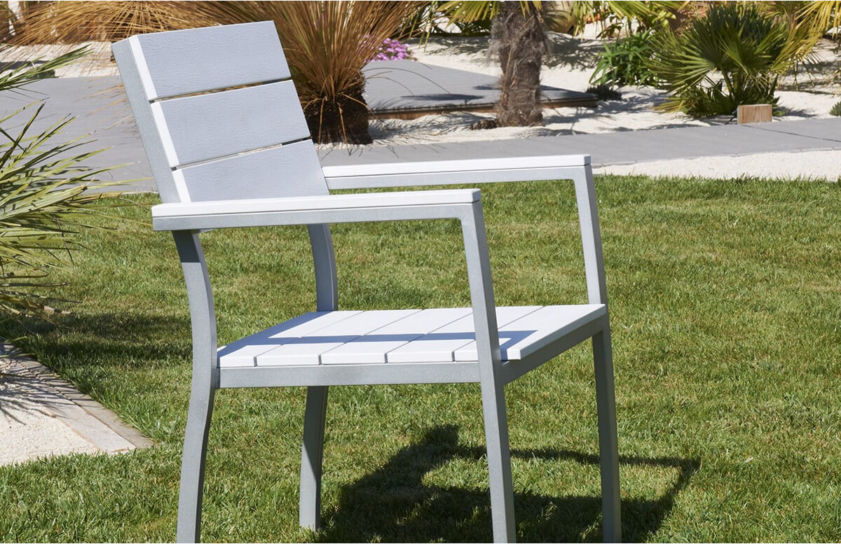 Fauteuil lame blanche