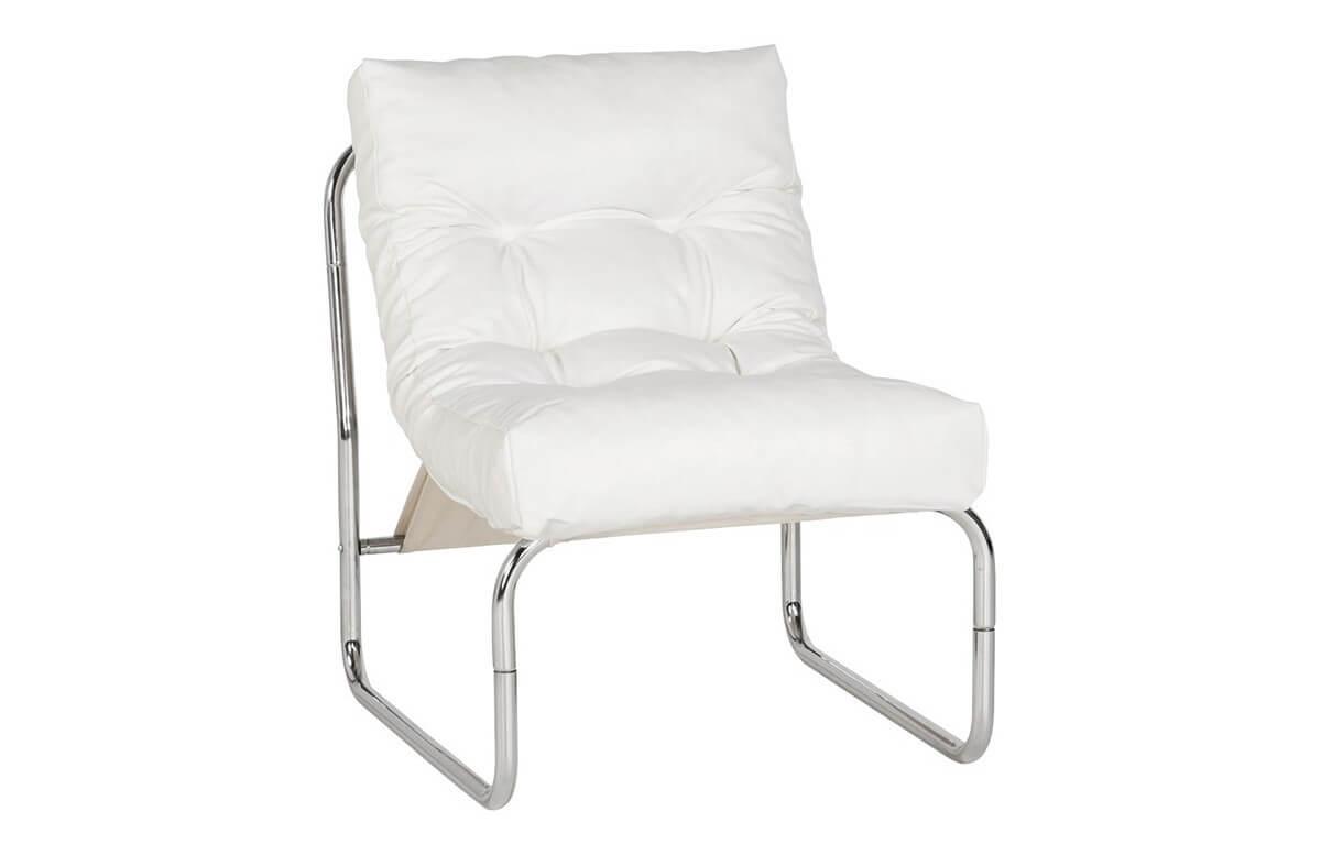 Fauteuil Design LOUNGE blanc