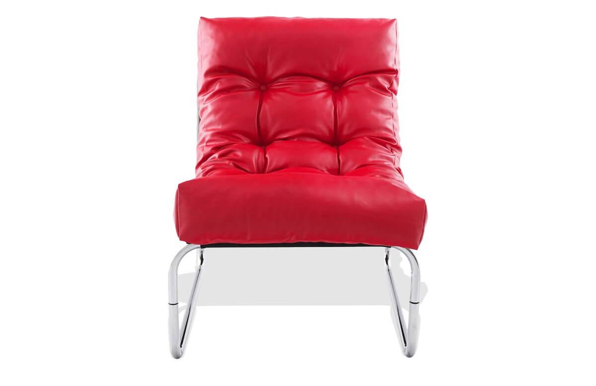 Fauteuil Design LOUNGE rouge