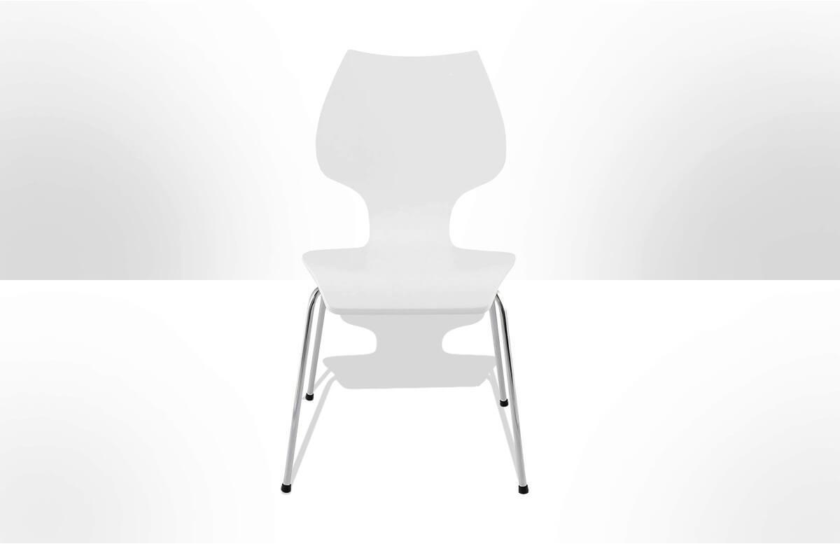 Chaise Design BOY blanc