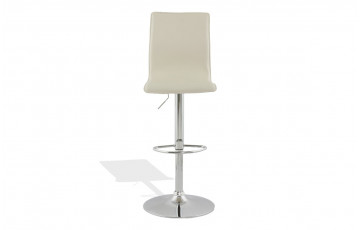 Tabouret de bar design creme
