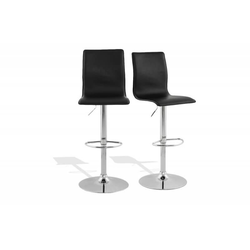 tabouret de bar design noir le r ve chez vous. Black Bedroom Furniture Sets. Home Design Ideas