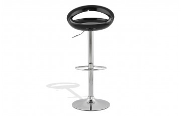Tabouret de bar Design SATURN noir