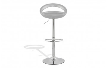 Tabouret de bar Design SATURN gris