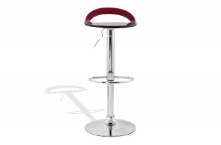 Tabouret de bar Design ZOOM rouge