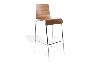 Tabouret chaise de bar TRENDS Zebrano