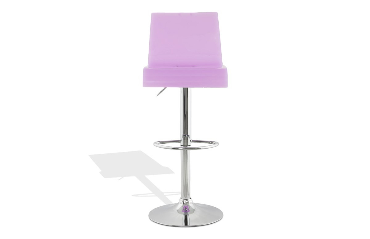 Tabouret de bar Design OSCAR pink