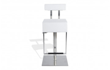 Tabouret de bar Design MANHATTAN blanc