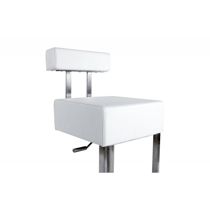 tabouret de bar design blanc le r ve chez vous. Black Bedroom Furniture Sets. Home Design Ideas