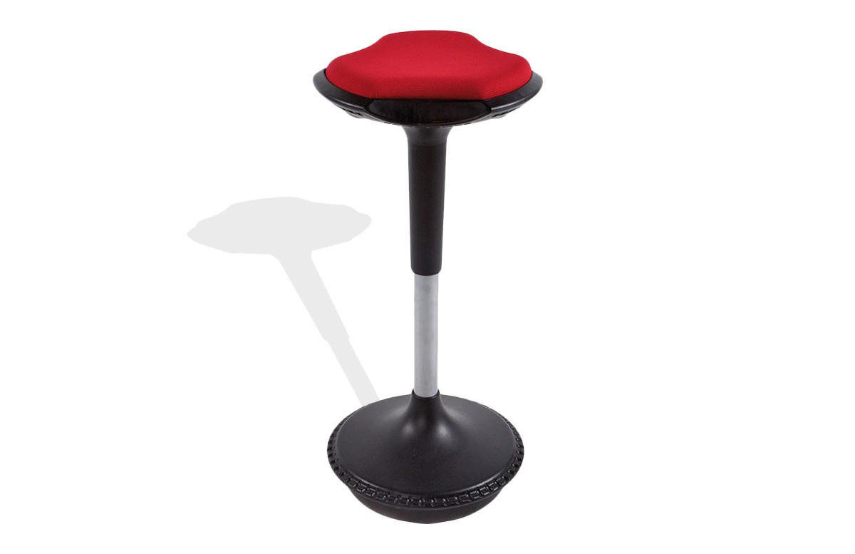 Tabouret design rouge