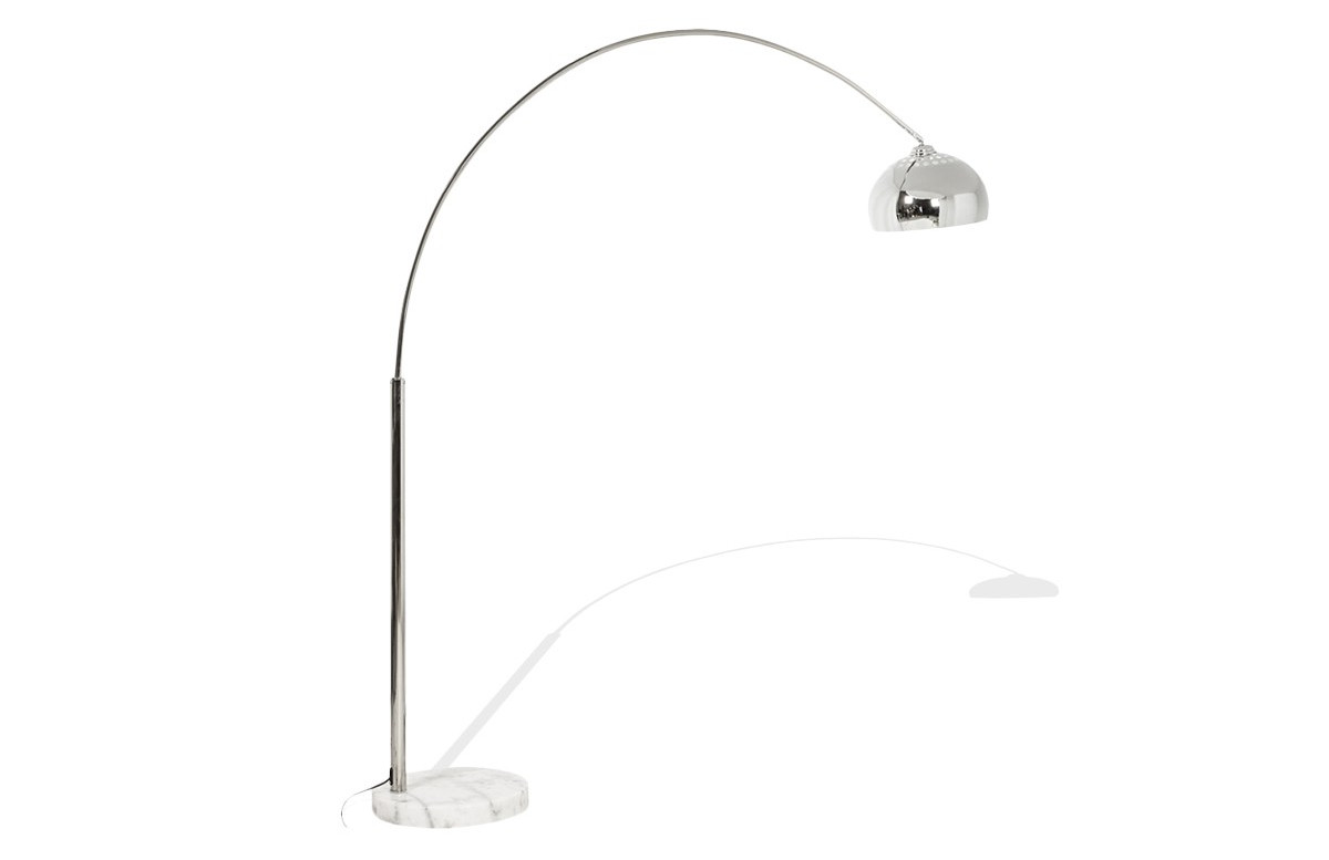 Lampadaire Design BIG BOW XL Chrome