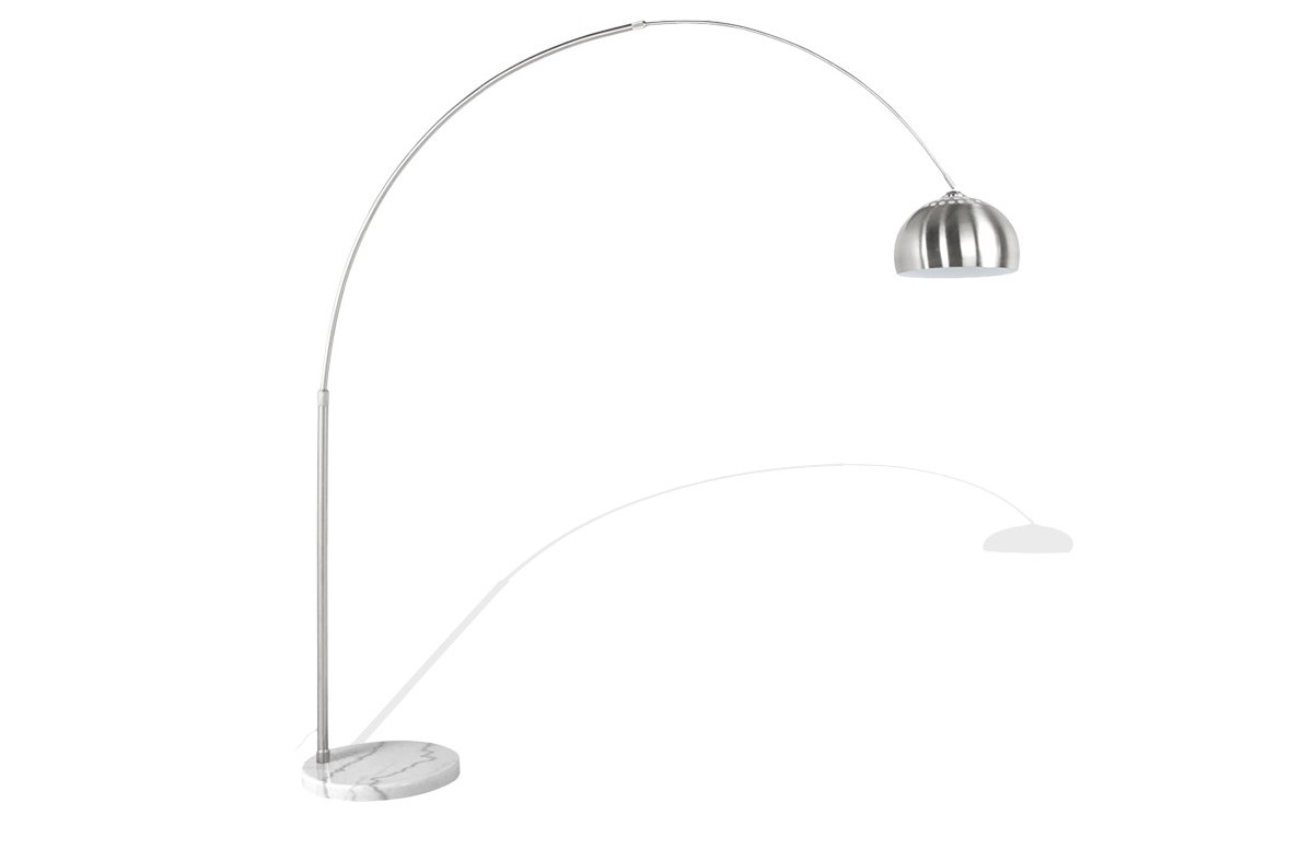 Lampadaire Design XBIG BOW SMALL chrome