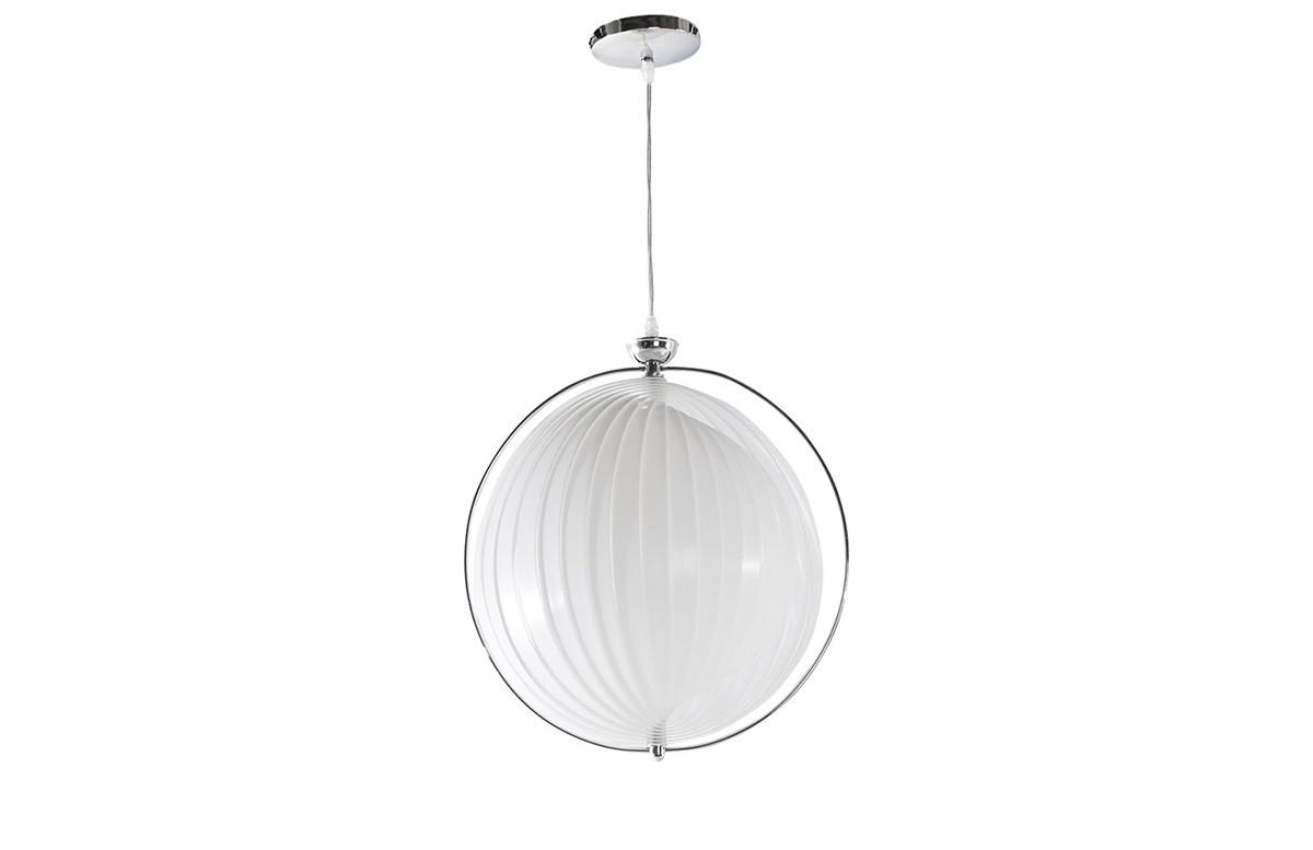 Lampe suspendue design blanc