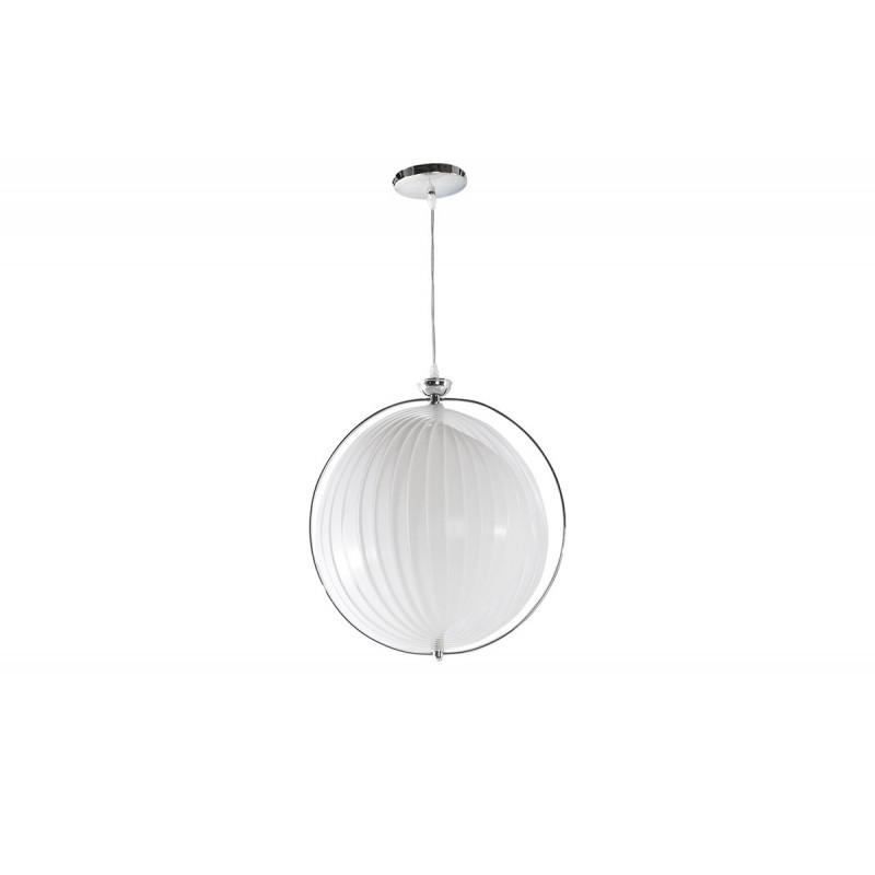 Lampe suspendue design blanc le r ve chez vous for Lampe suspendue design