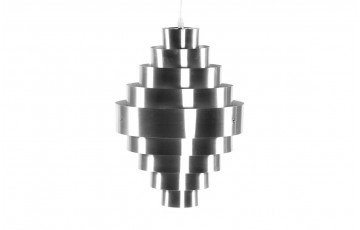 Lampe suspendue Design BEE gris