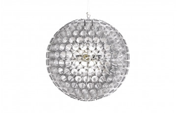 Lampe suspendue Design SPEED gris