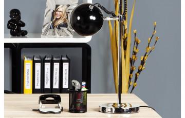 Lampadaire Design Globe SETTA noir