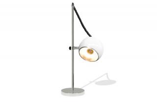 Lampadaire Design globe SETTA blanc