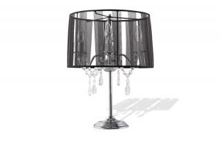 Lampe de chevet abat-jour Design SIMPLE noir
