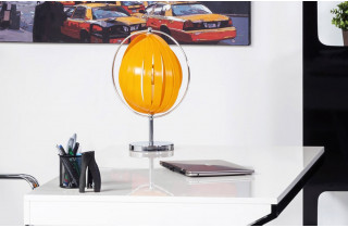 Lampadaire de table Design MOON JUNIOR orange