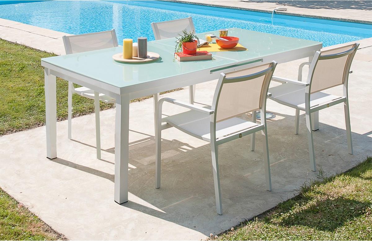 Ensemble table et 4 fauteuils