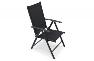 Chaise de jardin 5 position assise droite