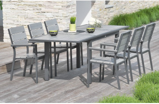 salon de jardin mobilier de jardin design le r ve chez. Black Bedroom Furniture Sets. Home Design Ideas