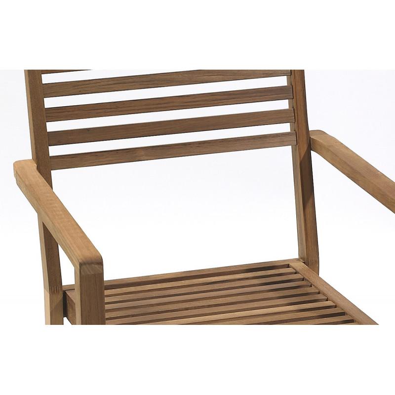 Salon de jardin mobilier de jardin design le r ve chez vous - Fauteuil de jardin bois ...