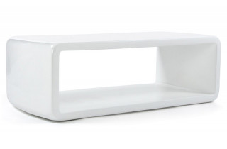 Table basse design NINE blanc