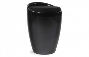 Tabouret Design BUBBLE noir