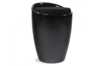 Tabouret design noir