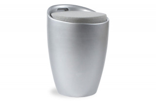 Tabouret design BUBBLE gris