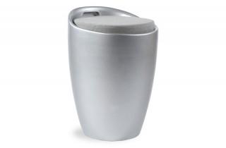 Tabouret design gris
