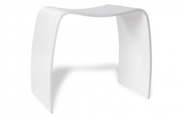 Tabouret Design AUSTIN blanc