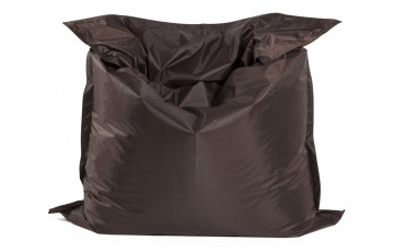 Pouf géant LAZY brun 180X140cm