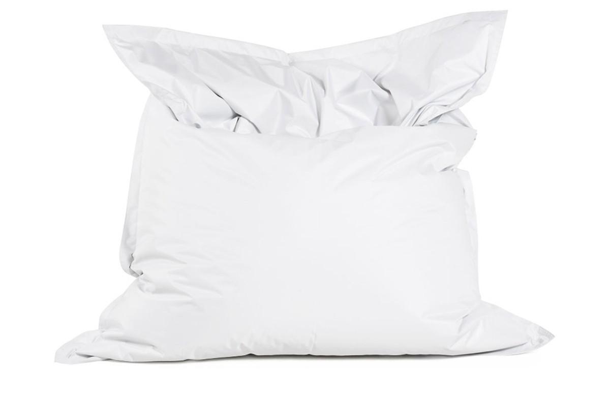 pouf géant LAZY blanc 180X140cm