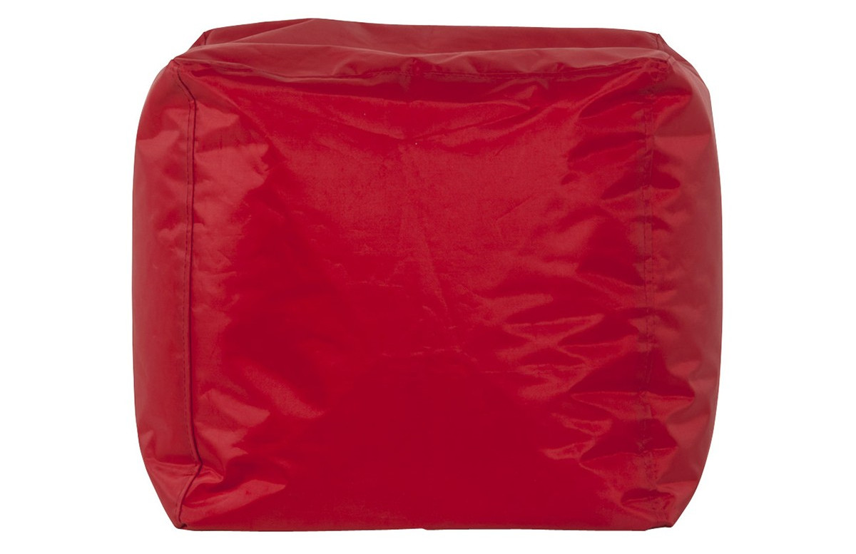 Pouf d'appoint EASY rouge