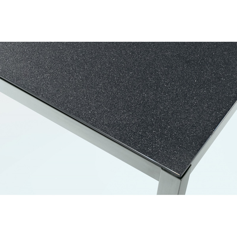 Emejing table salon de jardin en granit ideas awesome for Table et fauteuil jardin